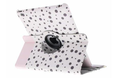 360° Draaibare Design Bookcase voor iPad 2 / 3 / 4 - Spikkel
