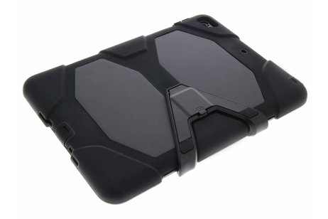 Extreme Protection Army Backcover voor iPad (2017) / (2018) - Zwart