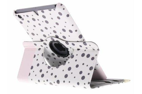360° Draaibare Design Bookcase voor iPad Mini / 2 / 3 - Spikkel