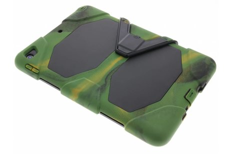 Extreme Protection Army Backcover voor iPad (2017) / (2018) - Groen