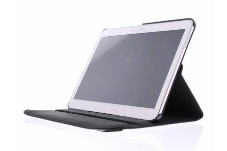 Samsung Galaxy Tab 4 10.1 hoesje - 360° Draaibare krokodil Bookcase