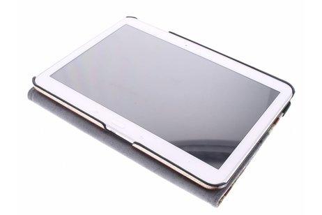 Samsung Galaxy Tab 4 10.1 hoesje - 360° Draaibare Design Bookcase