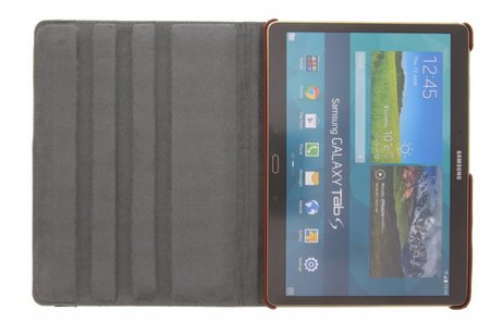 Samsung Galaxy Tab S 10.5 hoesje - 360° Draaibare Design Bookcase