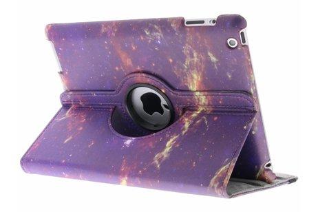 360° Draaibare Design Bookcase voor iPad 2 / 3 / 4 - Galaxy