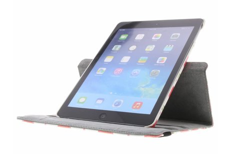 iPad Air hoesje - 360° Draaibare Design Bookcase