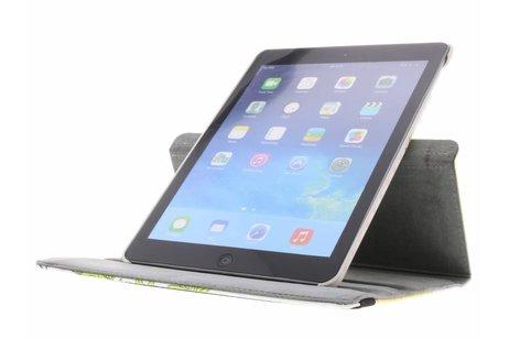 iPad Air hoesje - 360° Draaibare Design Bookcase