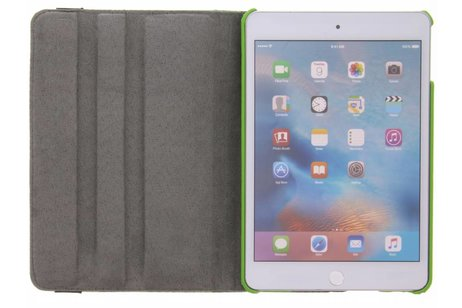 iPad Mini 4 hoesje - 360° Draaibare Design Bookcase