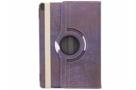 360° Draaibare Design Bookcase voor iPad Pro 10.5 / Air 10.5 - Koe