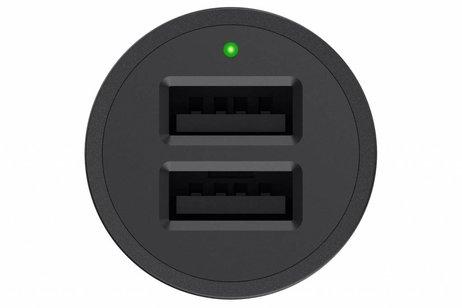 Belkin Boost↑Up 2-Port Car Charger 2,4A + Lightning naar USB-kabel
