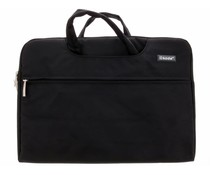 Zwart universele laptoptas 15 inch
