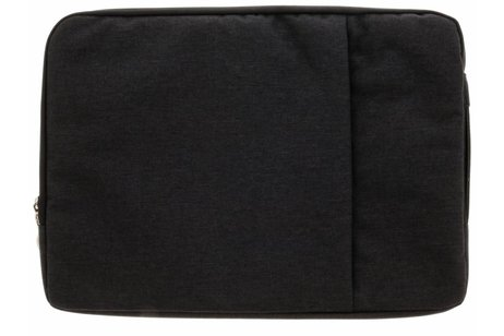 Zwarte textiel universele sleeve 15 inch