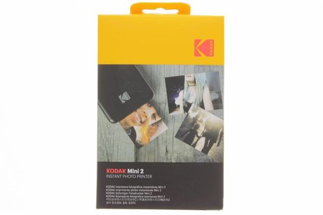 Kodak Zwarte Photo Printer Mini 2