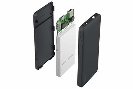 Belkin Zwarte Pocket Powerbank 5000 mAh + USB-C adapter