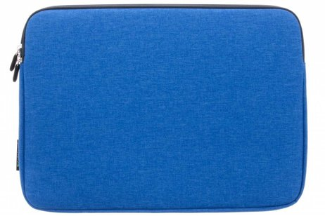 Gecko Covers Blauwe Universal Zipper Laptop Sleeve 11-12 inch