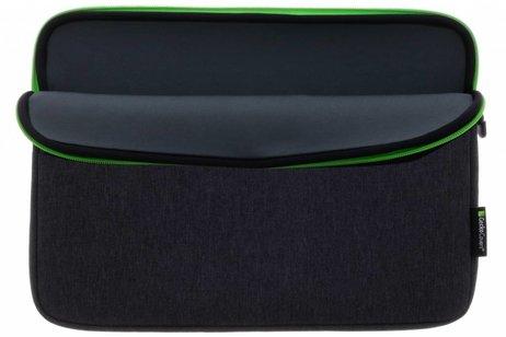 Gecko Covers Donkergrijze Universal Zipper Laptop Sleeve 11-12 inch