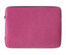 Gecko Covers Roze Universal Zipper Laptop Sleeve 17 inch