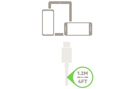 Belkin Zwarte Boost↑Up™ Quick Charge™ Car Charger + USB-C kabel