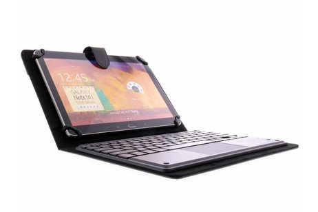 Zwarte Bluetooth Keyboard Case voor tablets van 9-10 inch
