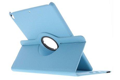 360° Draaibare Bookcase voor iPad Pro 10.5 / Air 10.5 - Lichtblauw