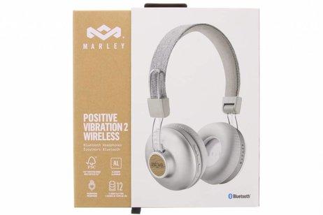 House of Marley Zilveren Positive Vibration 2 Wireless Headphones