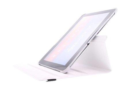 Samsung Galaxy Tab 2 10.1 hoesje - 360° Draaibare krokodil Bookcase
