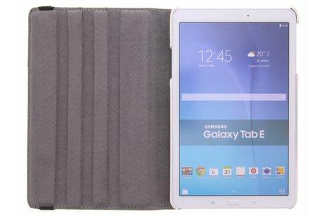 Samsung Galaxy Tab E 9.6 hoesje - 360° draaibare bloemen design