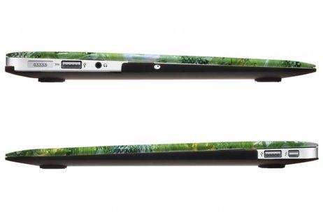 MacBook Air 11.6 inch hoesje - Planten design hardshell voor