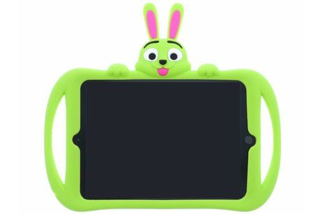 Groene konijn dieren tablethoes voor de iPad (2018) / (2017)