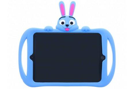 Blauwe konijn dieren tablethoes voor de iPad (2018) / (2017)