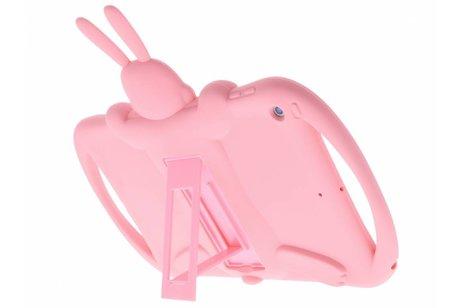 Roze konijn dieren tablethoes voor de iPad (2018) / (2017)