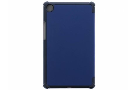 Huawei MediaPad M5 8.4 inch hoesje - Blauwe Stand Tablet Cover