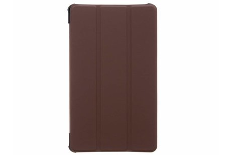 Huawei MediaPad M5 8.4 inch hoesje - Bruine Stand Tablet Cover