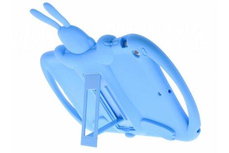 iPad Air hoesje - Blauwe konijn dieren tablethoes