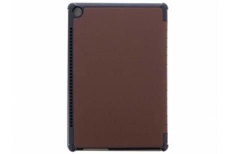 Bruine Stand Tablet Cover voor de Huawei MediaPad M5 (Pro) 10.8 inch
