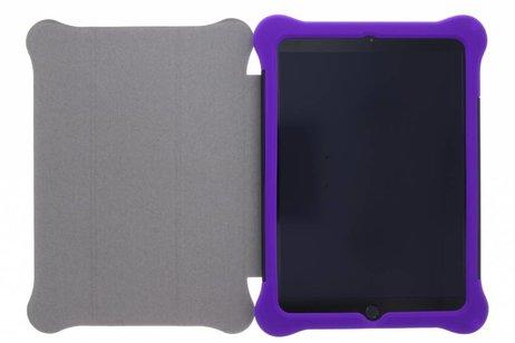 Paarse 3 in 1 tablethoes voor de iPad (2018) / (2017)