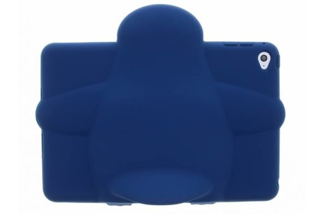 iPad Mini 4 hoesje - Blauwe pinguin dieren tablethoes