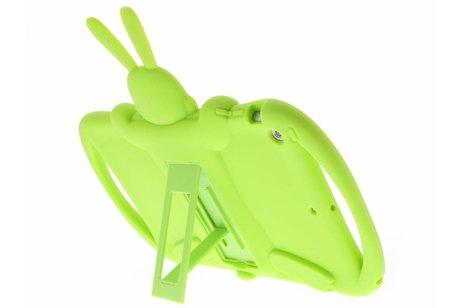 iPad Air hoesje - Groene konijn dieren tablethoes
