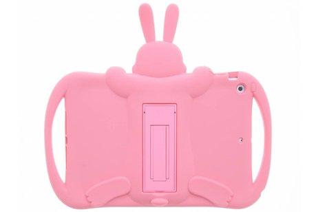 iPad Air hoesje - Roze konijn dieren tablethoes