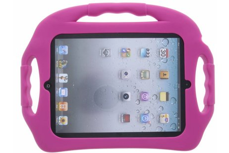Paarse tablethoes met handvat kids-proof voor de iPad 2 / 3 / 4