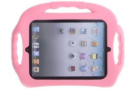 Roze tablethoes met handvat kids-proof voor de iPad 2 / 3 / 4