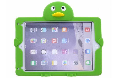 iPad Air 2 hoesje - Groene pinguin dieren tablethoes