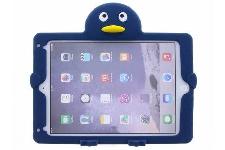 iPad Air 2 hoesje - Donkerblauwe pinguin dieren tablethoes