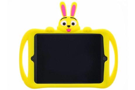 iPad Pro 9.7 hoesje - Gele konijn dieren tablethoes