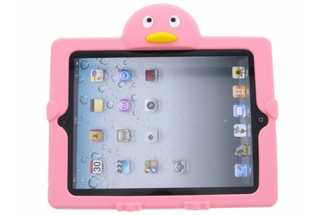 Roze pinguin dieren tablethoes iPad 2 / 3 / 4