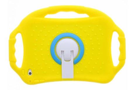 iPad Mini 4 hoesje - Gele tablethoes met handvat