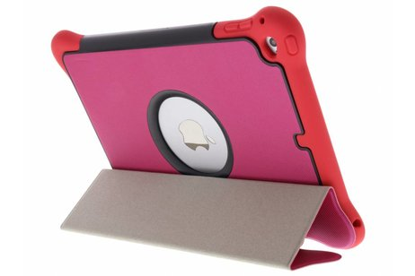 iPad Air 2 hoesje - Fuchsia 3 in 1