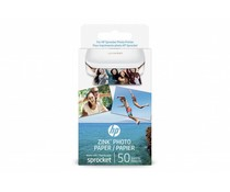 HP Zink® Photo Paper Sprocket - 50 Sheets