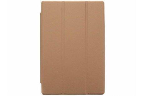 Asus ZenPad 10 Z300M hoesje - Bruine brushed tablethoes voor