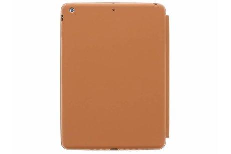 iPad Air hoesje - Bruine Flipstand Cover voor