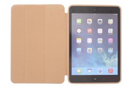 Luxe Bookcase voor iPad Mini / 2 / 3 - Goud